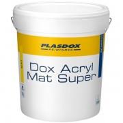Peinture de finition Mat PLASDOX Mat Super BLANC 15L
