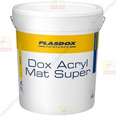 peinture de finition mat plasdox mat super blanc 15l 72 00. Black Bedroom Furniture Sets. Home Design Ideas