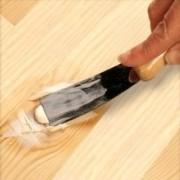 Mastic, pâte à bois